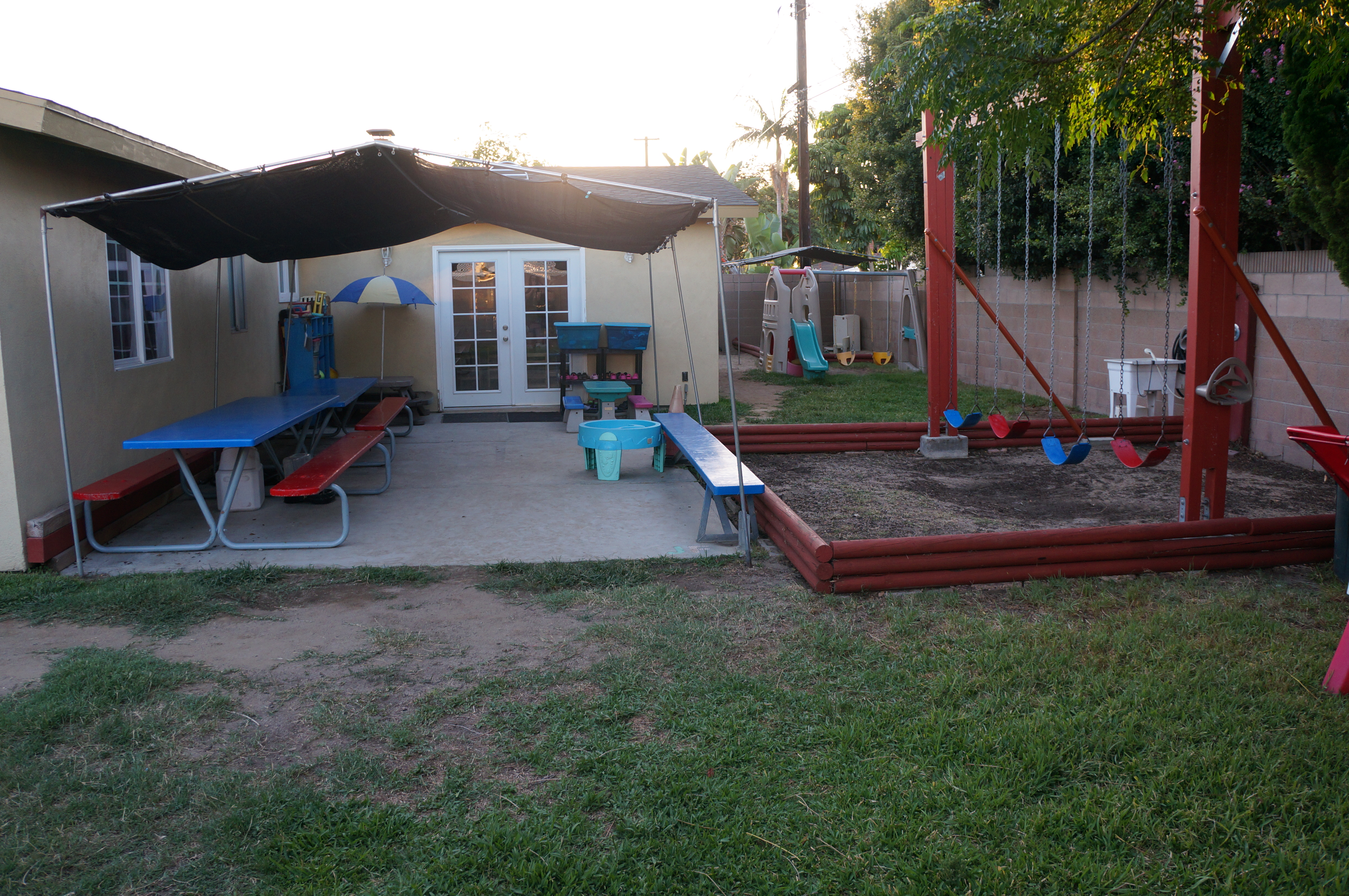 back play yard little stars early learning